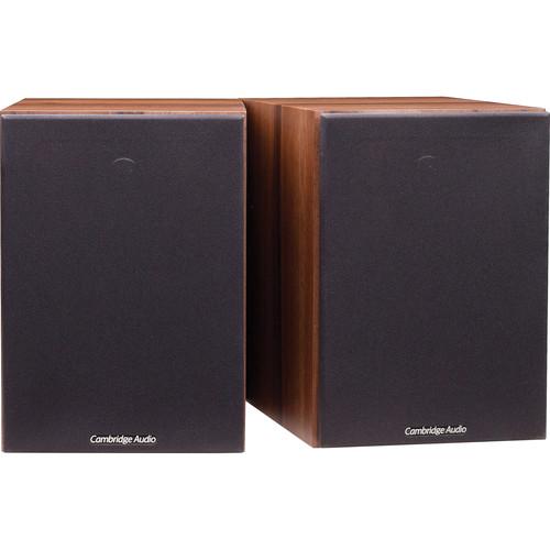 Cambridge Audio SX-50 2-Way Bookshelf Speakers (Pair, Walnut)