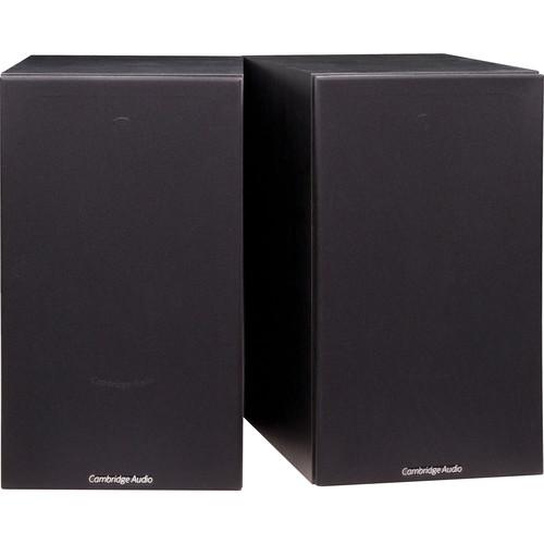 Cambridge Audio SX-60 2-Way Bookshelf Speakers (Pair, Black)