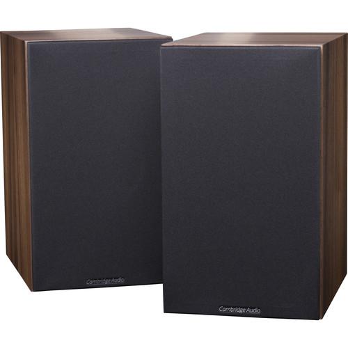 Cambridge Audio SX-60 2-Way Bookshelf Speakers (Pair, Walnut)