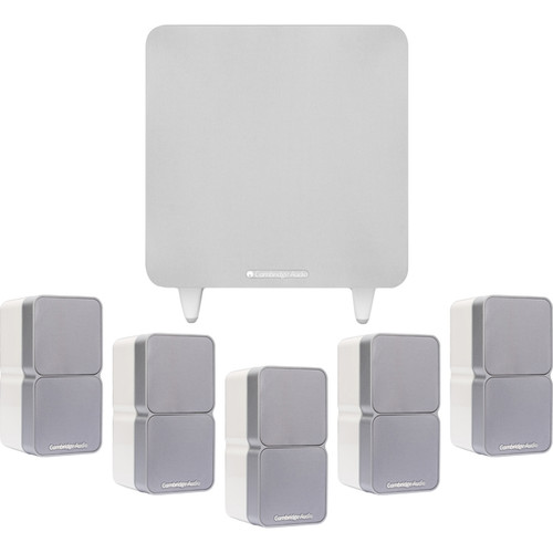 Cambridge Audio S325V3-WH 5.1 Channel Speaker System (White)