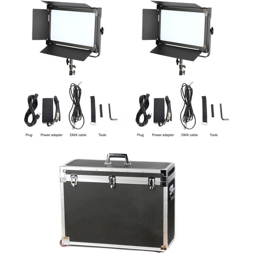 CAME-TV 1380 LED Daylight 2-Light Kit