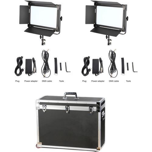 CAME-TV 1380 LED Bi-Color 2-Light Kit