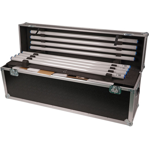 CAME-TV 4Bank 4' 2-Light Kit with Flight Case