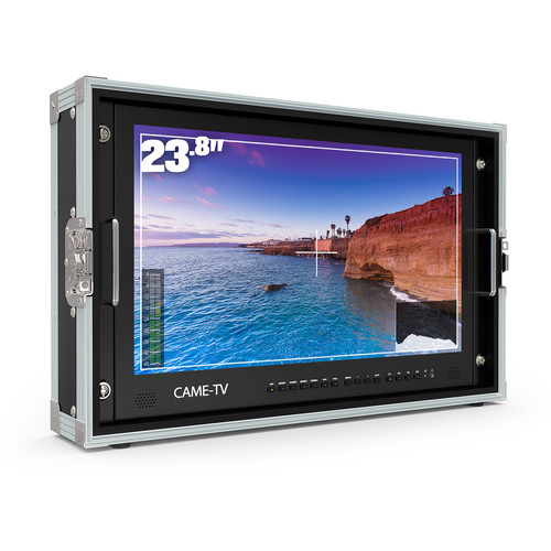 """CAME-TV 4K HDMI Carry-On Broadcast Monitor (23.8"""")"""