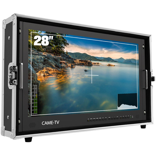 """CAME-TV 4K HDMI Carry-On Broadcast Monitor (28"""")"""