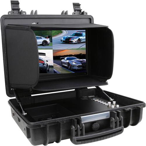 """CAME-TV Portable Case 4K HDMI/3G-SDI/VGA/DVI Monitor (17"""")"""