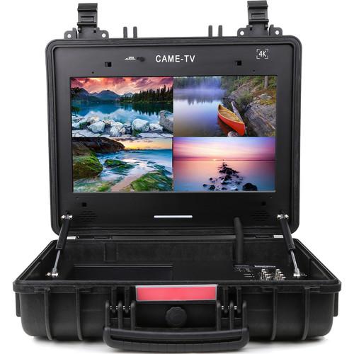 """CAME-TV Portable Case 4K HDMI/3G-SDI Monitor (17"""")"""