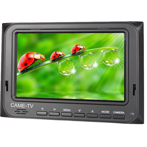 """CAME-TV 501-HDMI 5"""" HDMI AV Field Monitor with Peaking Focus Assist"""