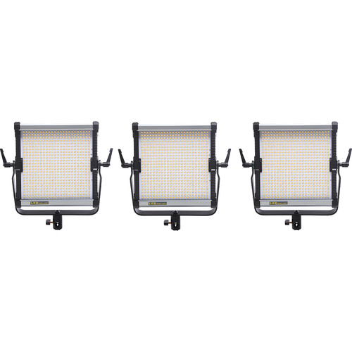 CAME-TV 576B Bi-Color LED 3 Light Kit with NP-F Mounts