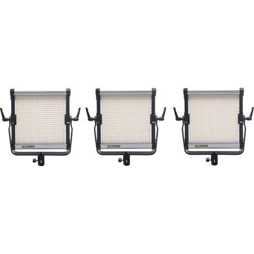 CAME-TV 576D Daylight LED 3-Panel Light Kit P688