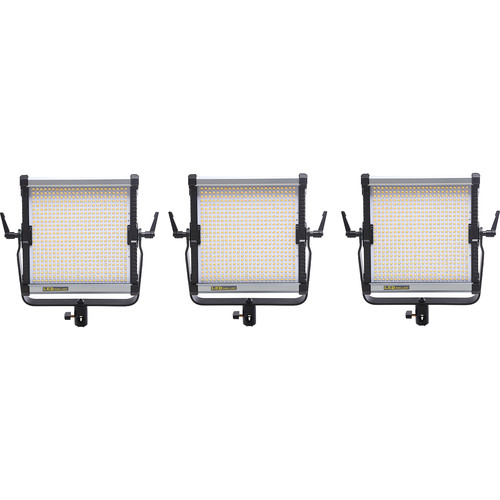 CAME-TV 576D Daylight LED 3 Panel Light Kit P688