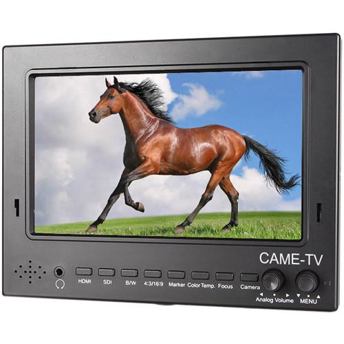 """CAME-TV 702-SDI Pro-Broadcast HD-SDI/HDMI Monitor (7"""")"""