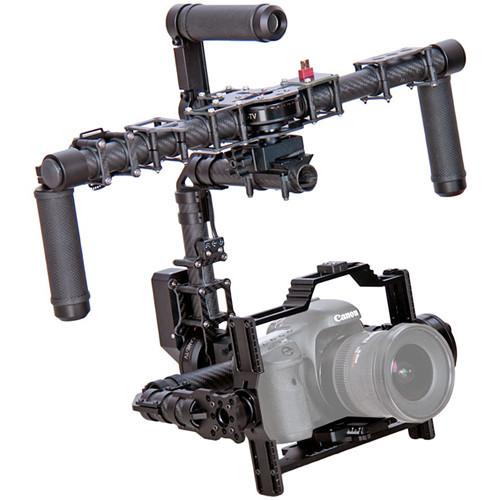 Light Stand Gimbal: CAME-TV CAME-7800S 3-Axis Camera Gimbal 7800H+DC1+CD1+B18