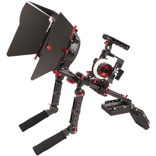 CAME-TV Carbon Fiber Rig Mattebox Shoulder Support Kit for Sony a7 Series Cameras (Black)