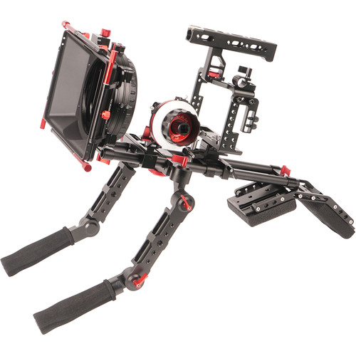 CAME-TV Matte Box Shoulder Support Rig Kit for Sony a7R II