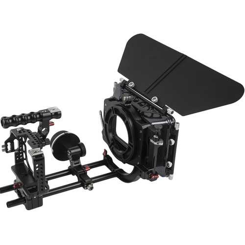 CAME-TV A7S2-PACK CAME-TV Protective Cage Plus for A7S2 & A7R2 Camera with Mattebox Follow Focus