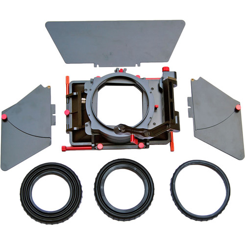 """CAME-TV ABS 4 x 4"""" Matte Box with Top & Side Flags"""