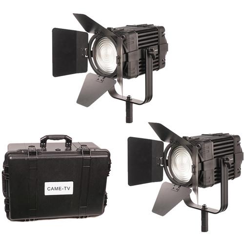 CAME-TV Boltzen 100W Fanless Focusable Fresnel Daylight LED 2-Light Kit