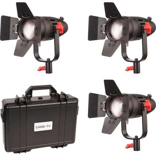 CAME-TV Bolzen B30 Fresnel 30W 3-Light Kit
