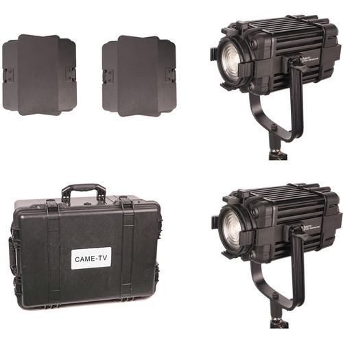 CAME-TV Boltzen 60W Fanless Focusable Fresnel Bi-Color LED 2-Light Kit