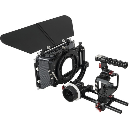 CAME-TV BMMCC-Pack Cage Plus for Blackmagic Micro Cinema Camera
