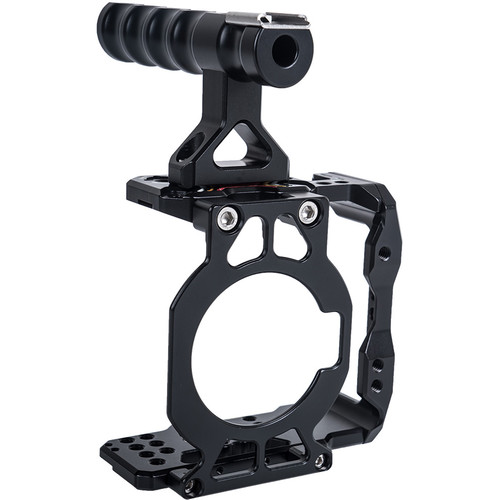 CAME-TV Half Cage with Front Plate and Top Handle for BMPCC 6K/4K