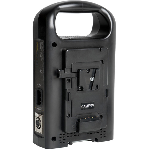 CAME-TV Dual V-Mount Battery Charger and Power Supply
