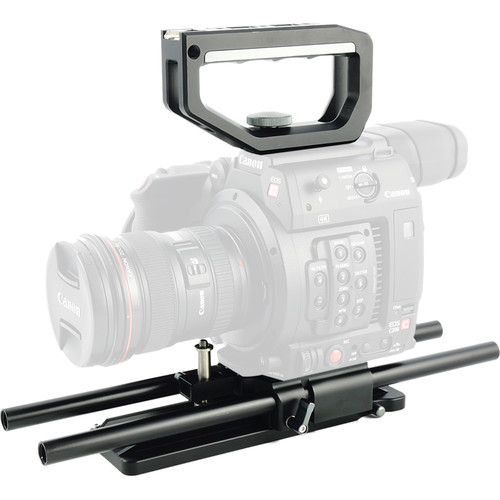 CAME-TV Top Handle & Base Plate Kit for Canon EOS C200 EF