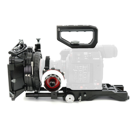 CAME-TV PK03 Shoulder Rig For Canon Eos C200  With Mattebox Follow Focus