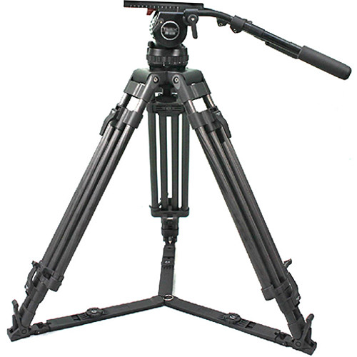 CAME-TV Carbon Fiber Tripod with Fluid Head