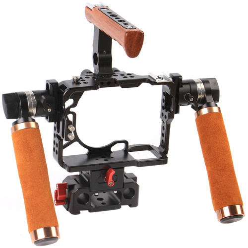 CAME-TV Deluxe Edition Rig with Baseplate for Sony a7R II & a7S II Cameras