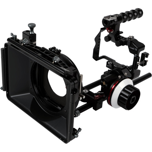 CAME-TV Camera Rig Matte Box Follow Focus Kit for Sony a7R III