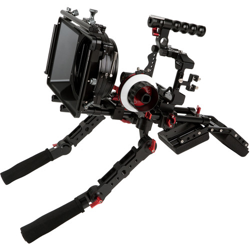 CAME-TV Camera Rig Matte Box Shoulder Support Kit for Sony a7R III