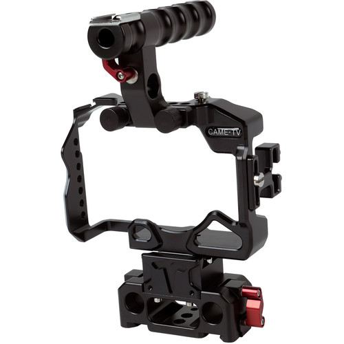CAME-TV Camera Cage Rig with 15mm Rod System for Sony Alpha a7R III