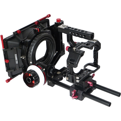 CAME-TV Rig with Matte Box and Follow Focus for Sony a7S