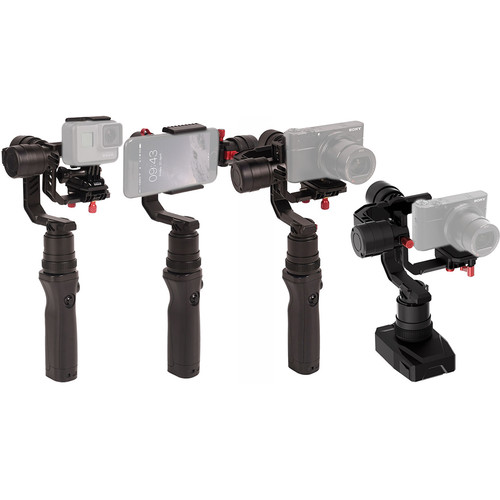 CAME-TV Spry 4-In-1 Gimbal With Detachable Head