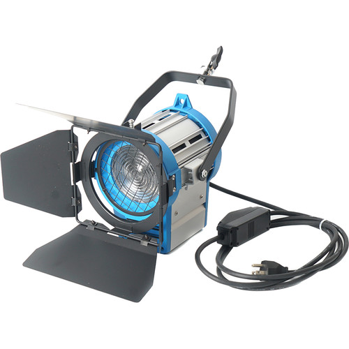 CAME-TV Pro 1000W Fresnel Tungsten Light with Built-In Dimmer Control