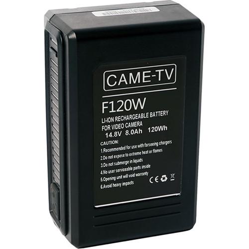 CAME-TV Compact 120Wh 14.8V V-Mount Battery