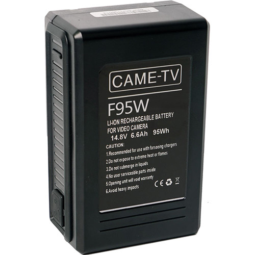 CAME-TV Compact 98Wh 14.8V V-Mount Battery
