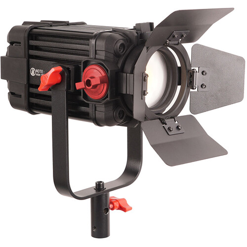 CAME-TV Boltzen 100W Fresnel Focusable LED Bi-Color Light with Built-In Fan