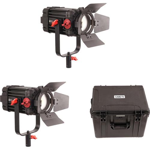 CAME-TV Boltzen 100W Fresnel Focusable LED Bi-Color 2-Light Kit