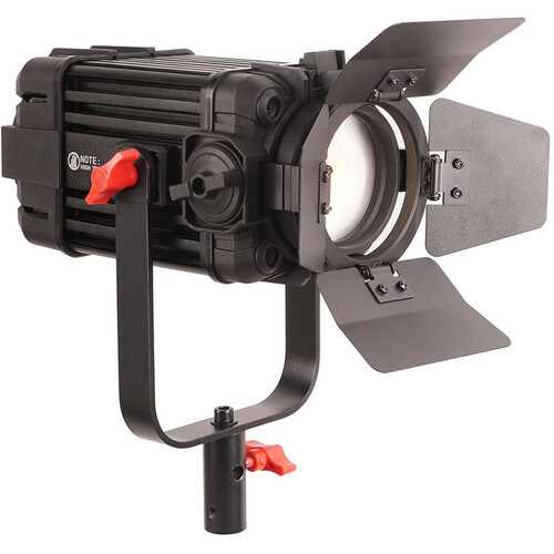CAME-TV Boltzen 100W Fresnel Focusable LED Daylight Light with Built-In Fan