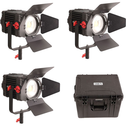 CAME-TV Boltzen 150W Fresnel Focusable LED Daylight (Pack of 3)