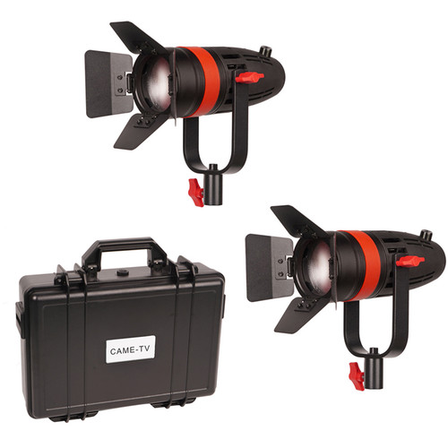 CAME-TV Boltzen 55W Bi-Color LED Fresnel 2-Light Kit