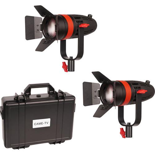 CAME-TV Boltzen 55W Focusable LED Fresnel 2-Light Kit