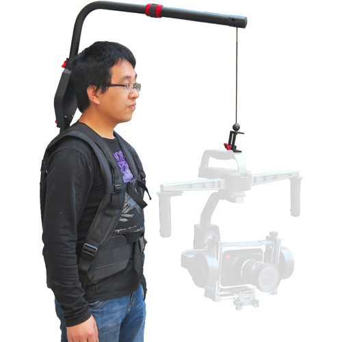 CAME-TV Gimbal Support Vest for 3-Axis Gimbal for Up to 18 lb
