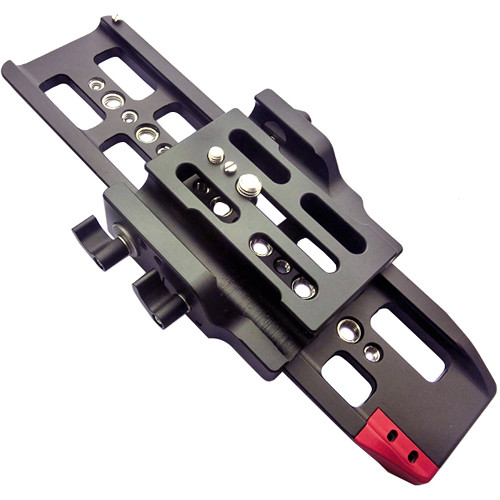 CAME-TV Sliding Baseplate System with 15mm Rods for Sony FS7