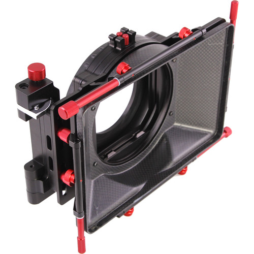 CAME-TV MB-02 Carbon Fiber 4x4 Matte Box for DSLR Rigs