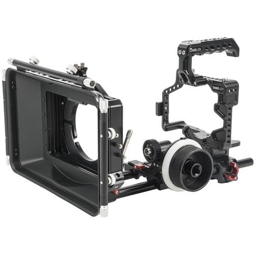 CAME-TV GH5-Pack Came-TV Protective Cage Plus for GH5 Camera with Mattebox Follow Focus