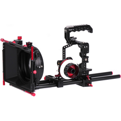 CAME-TV Protective Cage Plus for Panasonic GH5 with Matte Box and Follow Focus